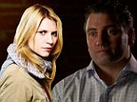 The outline by a former Navy SEAL Matt Bissonnette (right) outlines similarities between a CIA representative and a impression played by Claire Danes in Homeland (left)