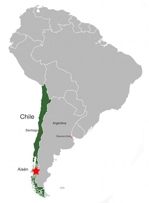 Chilesaurus diegosuarezi map